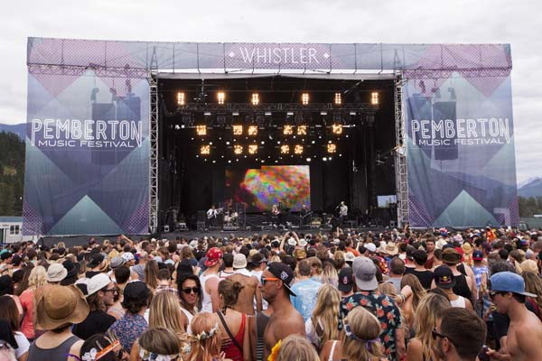 Save on the Pemberton Music Festival