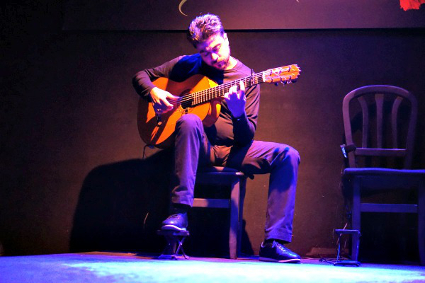 Flaming Flamenco Guitarist - Fire & <br>  Flames You Must See it to Believe it!